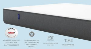 Casper single memory foam